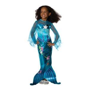 """Schöne Meerjungfrau Kostüm Fasching """"Blue Magical Mermaid"""""""