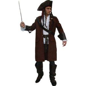 Kostüm Pirat Jack Piratenkostüm mit Hut