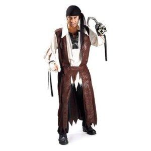 Pirat Freibeuter der Meere - Erwachsenenkostüm