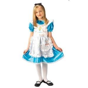Rubies 3 883689 - Kinderkostüm Alice in Wonderland Deluxe (inkl. Haarreif)