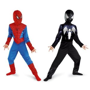 Cesar - Spiderman Wendekostüm (Kinderkostüm, mit Haube)