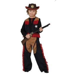 Rubies 1 2391 - Kinderkostüm Cowboy (Weste und Hose)