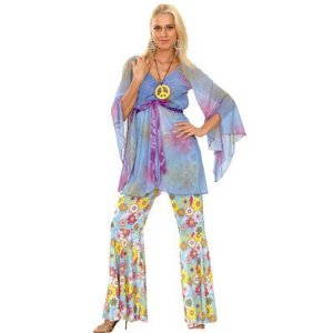 Patry-Partners 87306 Damen-Kostüm Hippie