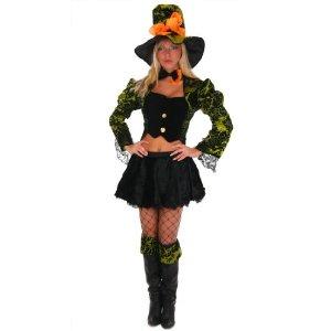 Sexy Alice Hutmacher Karneval Fasching Kostüm